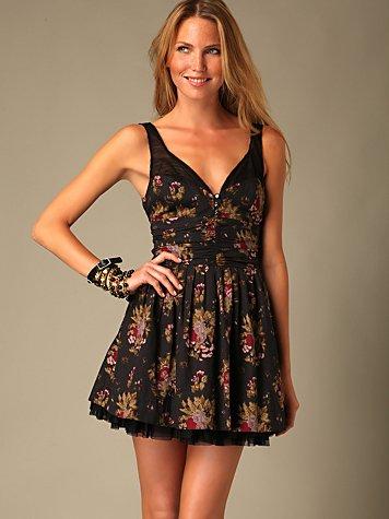 Cabbage Rose Dress