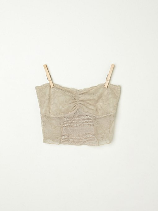 Cropped Lace Tube
