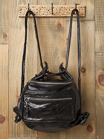 Bolu Leather Convertible Backpack