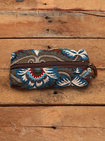 Morocco Embroidered Pouch