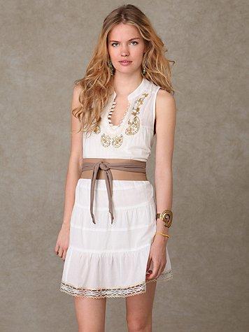 Paisley Necklace Dress