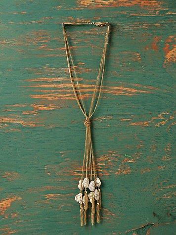 Tied Tight Rock Necklace