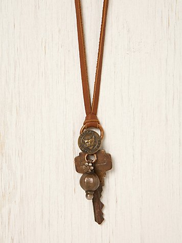 One Of A Kind Lost Key Necklace