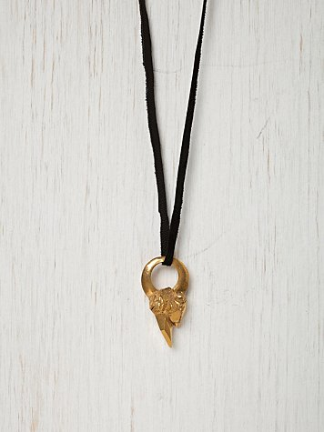Mountain Gold Necklace