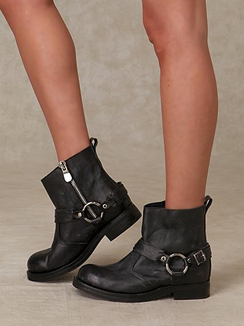 Harness Biker Boot