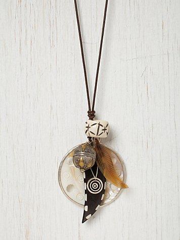 Congo Disc Necklace