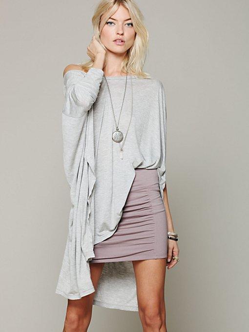 High Waist Scrunch Skirt
