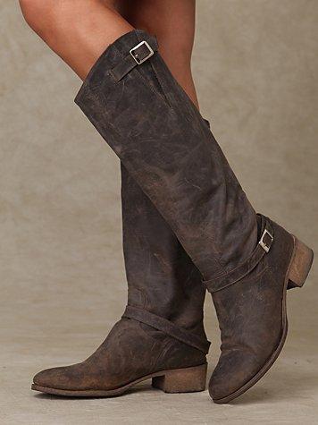 Rowdy Zip Back Boot