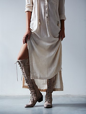 Jeffrey Campbell For Free People Joe Lace Up Boot At Free