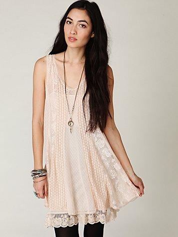 Loving Lace Trapeze Dress