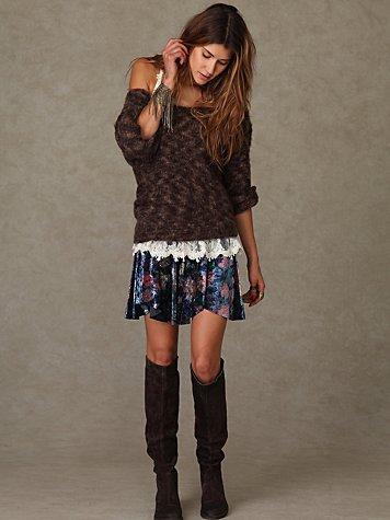 Velvet Echoes Skirt