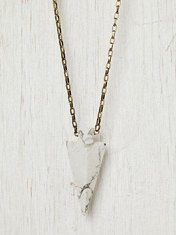 Stone Arrow Necklace