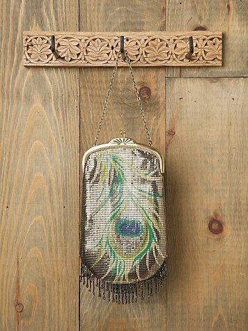 Feather Flapper Chainmail Bag