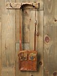 Charmed Leather Satchel