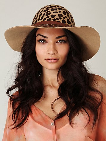 Bleached Floppy Hat