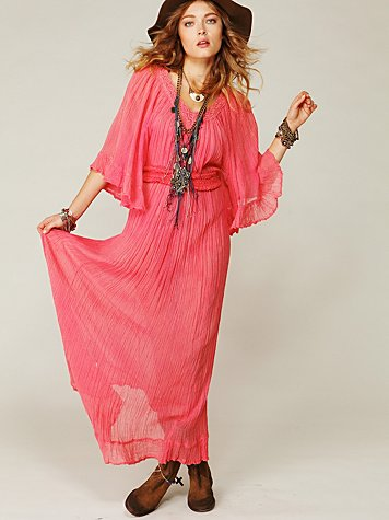 Daydream Crinkle Maxi Dress