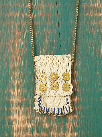 Crochet Pocket Pendant