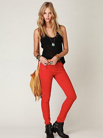 Seamed Skinny Jean