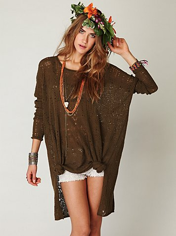 FP New Romantics Message In The Sand Tunic