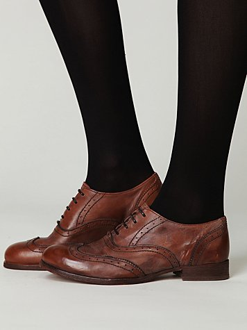 Aged Leather Wingtip