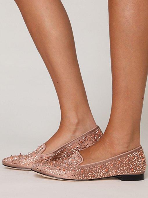 Metal Shimmer Loafer