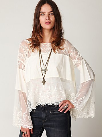 Cannaregio Mesh Top
