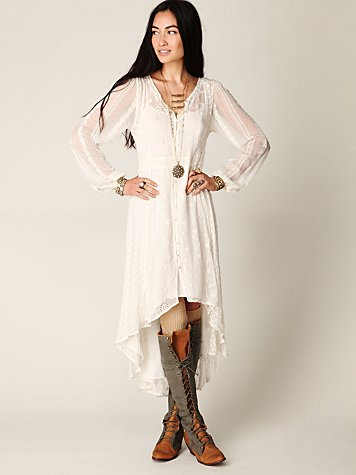 Enchanted Eyelet Dress