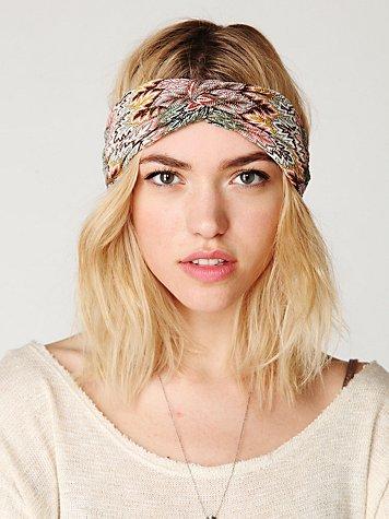 Zig Zag Turban Headband