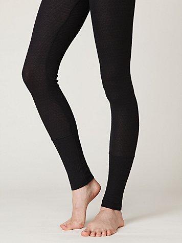 Pointelle Legging