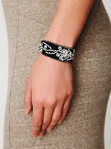 Encrusted Wrap Bracelet
