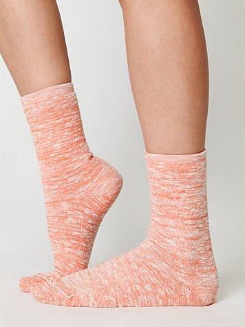 Neon Spacedye Boot Sock