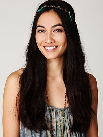 Edie Feather Headpiece