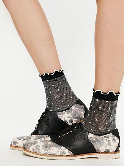 Sweet Day Saddle Shoe