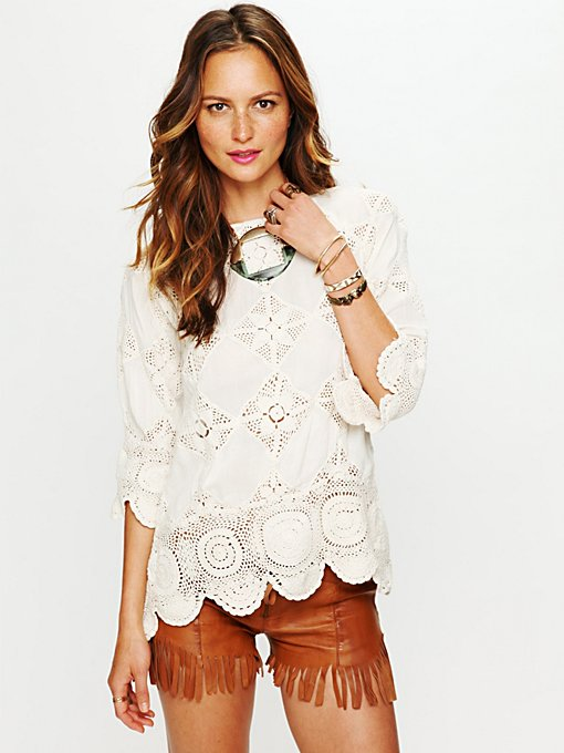 Diamond Crochet Tunic