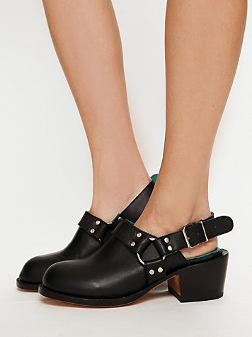 Biscuit Slingback Boot