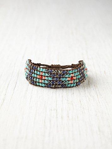 Narrow Beaded Friendship Bracelet