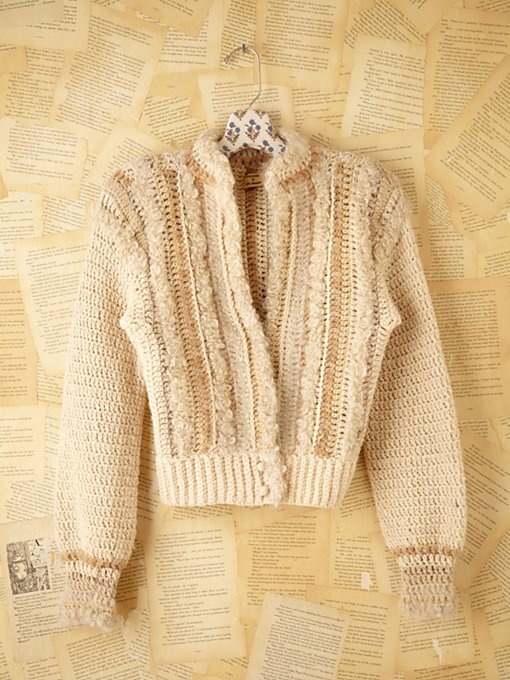 Vintage Boucle Sweater