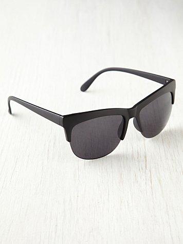 Plastic Brow Sunglasses