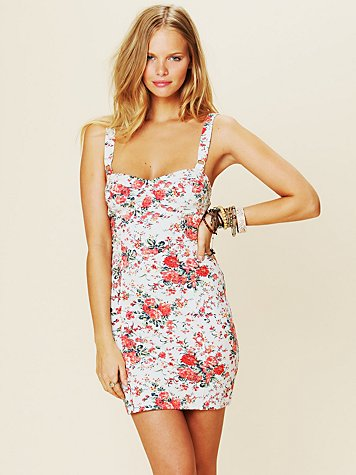 Printed French Terry Slip