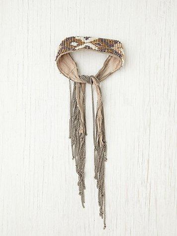 Beaded Fringe Bracelet
