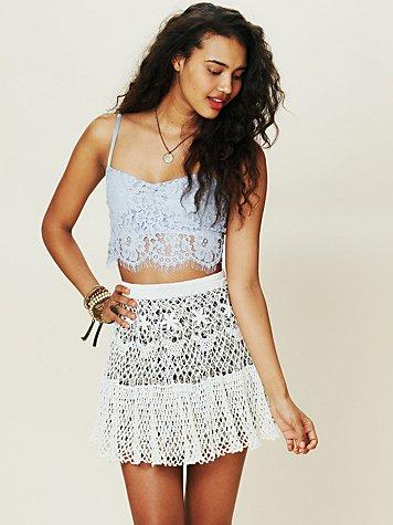 Crochet Sweater Skirt
