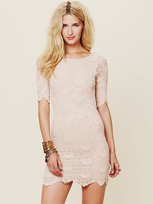 Spanish Lace Priscilla Dress