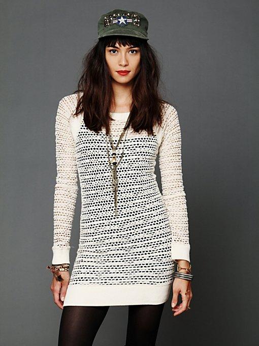 Lace Raglan Dress