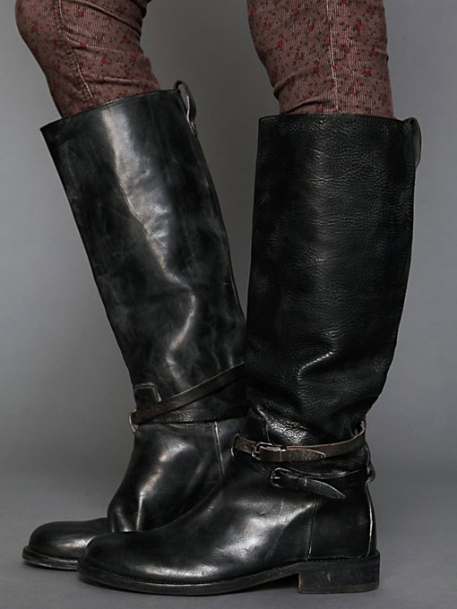 HTC Bavery Tall Leather Boot