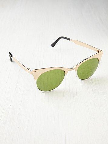 Half and Half Sunglasses