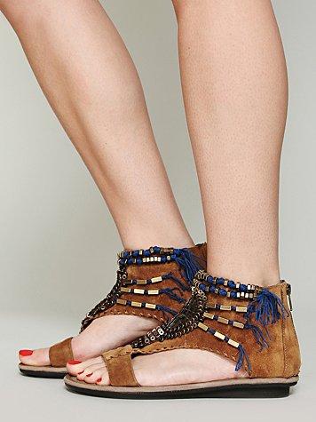 Desert Beaded Sandal
