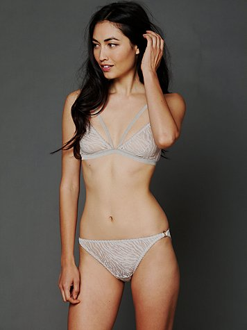 Cut Out Triangle Brief