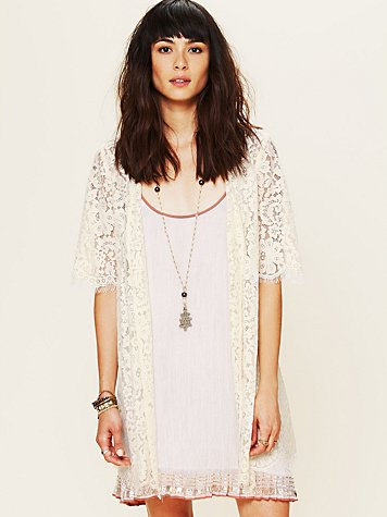 Harvard Lace Robe