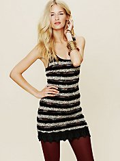 Boucle Mini Dress