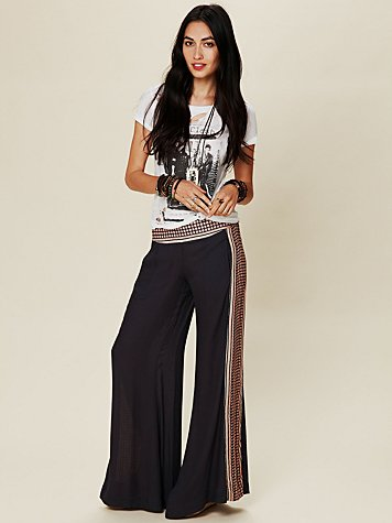 Rumor Has It Border Print Pant